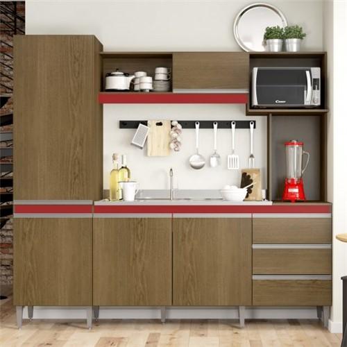 Cozinha Compacta Vitória 318 - Soluzione | Elare