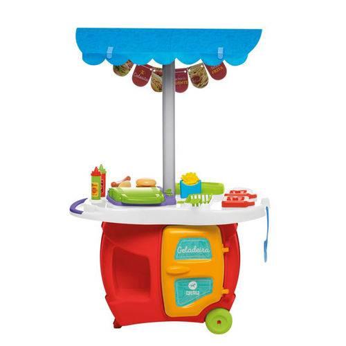 Tudo sobre 'Cozinha Infantil Food Truck Colorida 353 - Calesita'