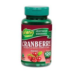 Cranberry 120 Cápsulas 500mg Oxicoco - Unilife