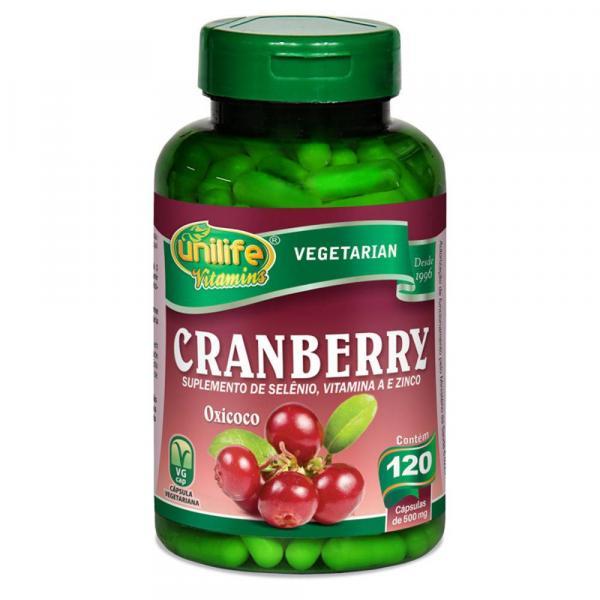 Cranberry 120 Cápsulas 500mg - Unilife