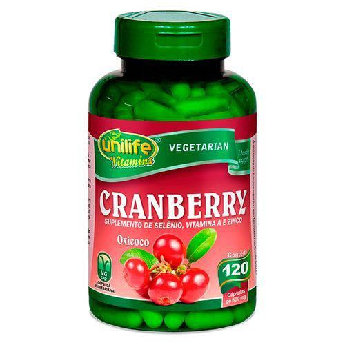 Cranberry 120 Capsulas