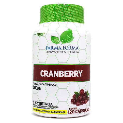 Cranberry 500mg 120 Cápsulas