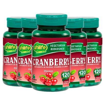 Cranberry - 5x 120 Cápsulas - Unilife