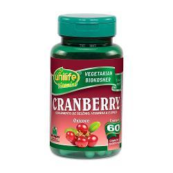 Cranberry 60 Cápsulas 500mg Oxicoco - Unilife