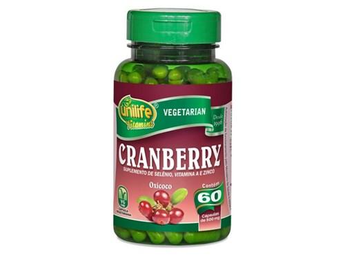 Cranberry 60 Cápsulas Unilife