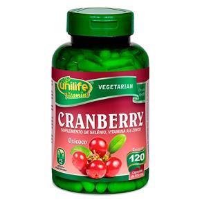 Cranberry Oxicoco (500mg) 120 Cápsulas - Unilife