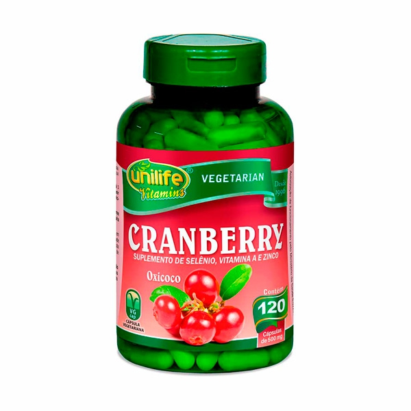 Cranberry Unilife 120 Cápsulas de 500mg