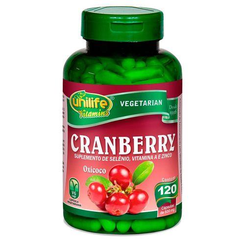 Cranberry Unilife 120 Cápsulas