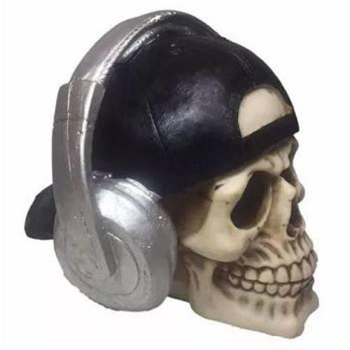 Tudo sobre 'Crânio Caveira com Fone Halloween'