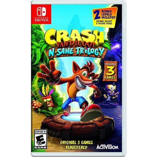 Tudo sobre 'Crash Bandicoot N Sane Trilogy - Switch'
