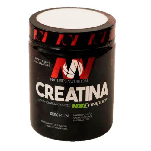 Creatina 300g Creapure 100% Pura Natures Nutrition