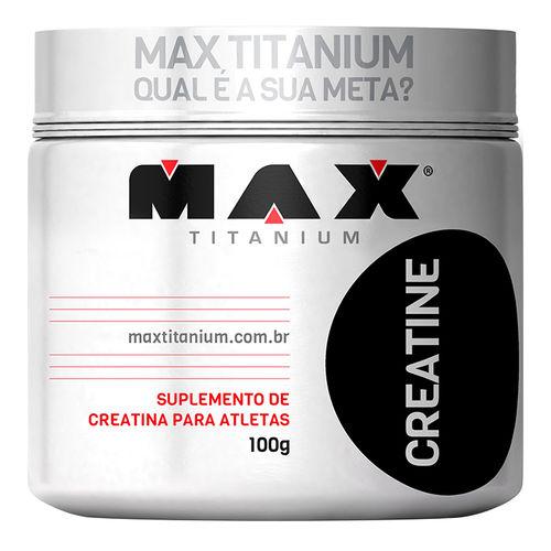 Creatina (100g) - Max Titanium