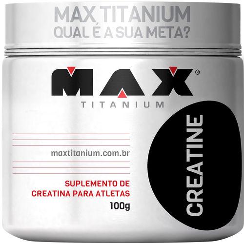 Creatina 100g Max Titanium