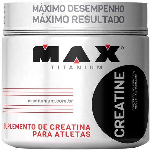 Creatina 150g - Max Titanium