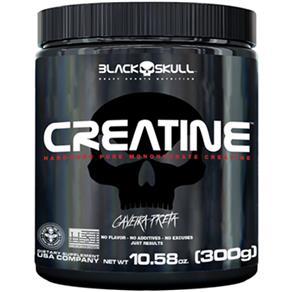 Creatina Caveira Preta 300G - Black Skull