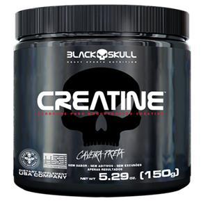 Creatina Caveira Preta 150G - Black Skull