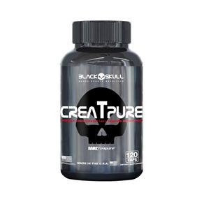 Creatina CREAPURE CreaTpure - Black Skull - 120caps -