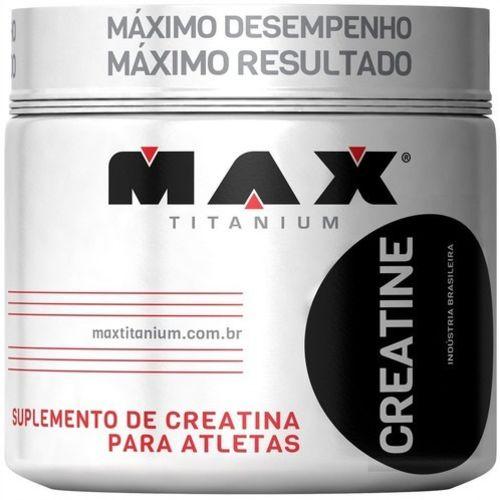 Creatina Max Titanium 300g Aumento de Força