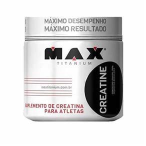Creatine 100g Max Titanium - Sem Sabor - 100 G