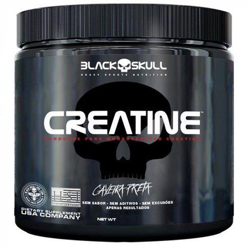 Creatine (300g) Caveira Preta - Black Skull