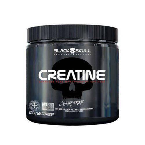 Creatine Caveira Preta 300G - Black Skull