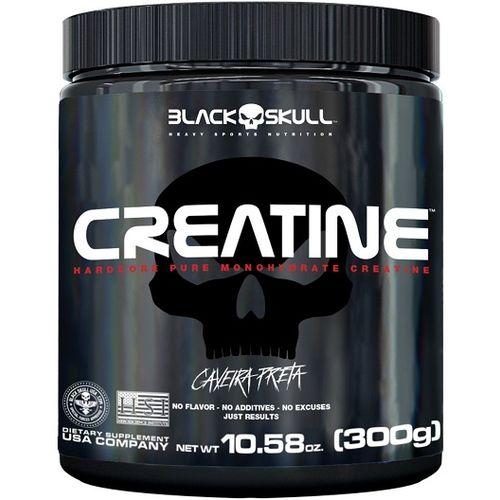 Creatine Caveira Preta (300g) - Black Skull