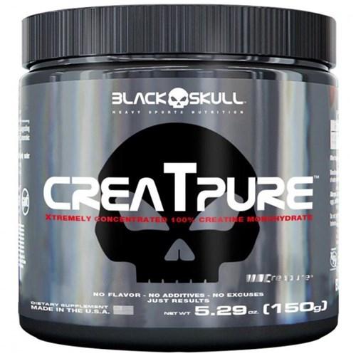 Creatpure Creatina Creapure (300G) - Black Skull