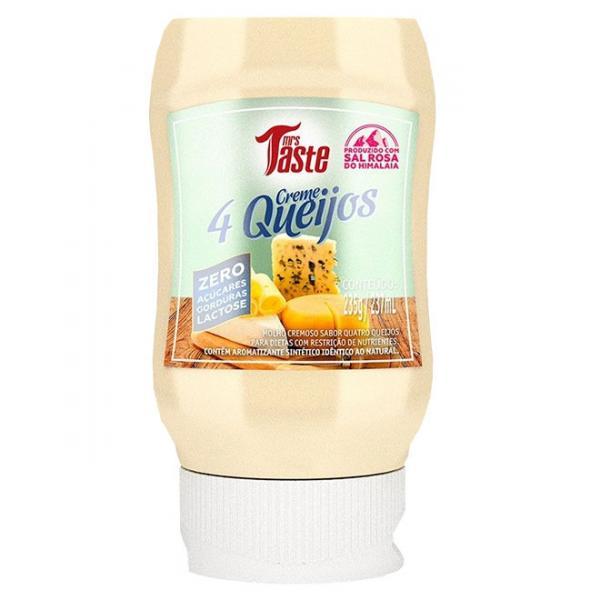 Creme 4 Queijos 235g - Mrs Taste - Mrs. Taste