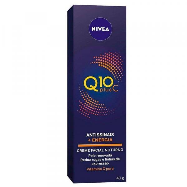 Creme Antissinais Nivea Q10 Plus C - 40g