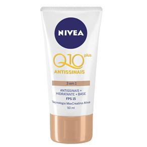 Creme Antissinais Nivea Q10 Plus 3 em 1 50ml