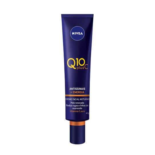 Creme Antissinais Nivea Q10 Vitamina C Noturno 40g