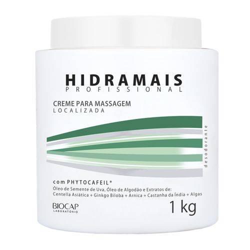 Creme de Massagem Hidramais Phytocafeil 1kg