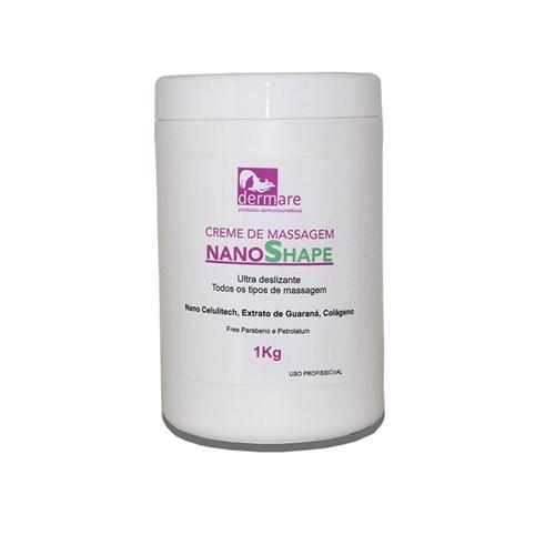 Creme de Massagem Nanoshape 1Kg Dermare