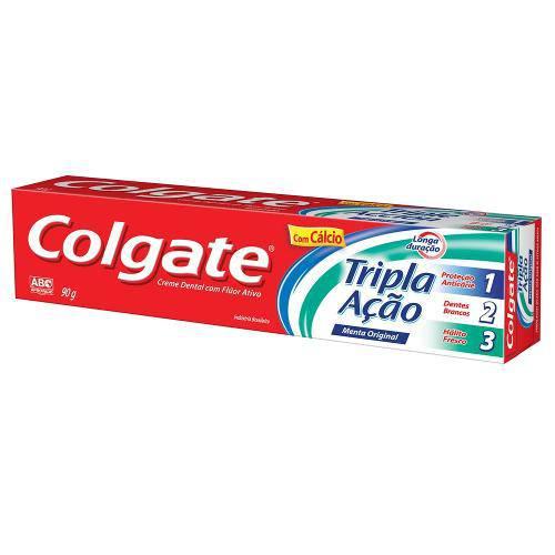 Tudo sobre 'Creme Dental Colgate 90g Tripla Ação'
