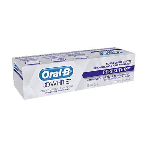 Tudo sobre 'Creme Dental Oral-B 3d White Perfection'