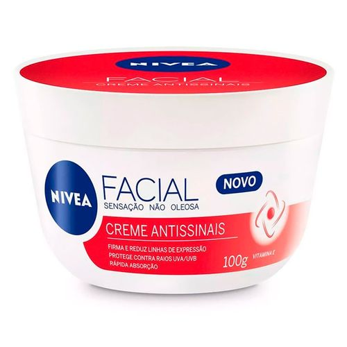 Creme Facial Antissinais 100g Nivea