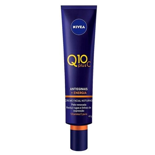 Creme Facial Antissinais Nivea Q10 Plus C 40G
