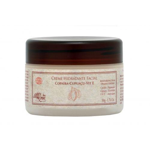 Creme Facial Copaiba Orgânico 50g Arte dos Aromas