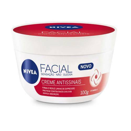 Creme Facial Hidratante Nivea 100g Antissinais