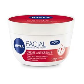 Creme Facial Hidratante Nivea Antissinais - 100 G