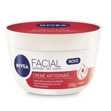 Creme Facial Niea Antissinais 100g