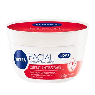 Creme Facial Nivea Antissinais 100g
