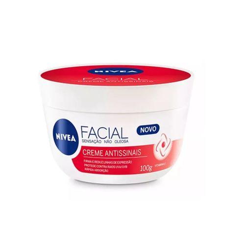 Creme Facial Nivea Antissinais - Sensação não Oleosa 100g