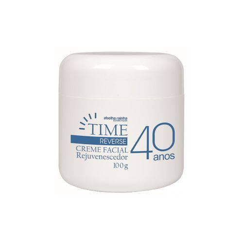 Creme Facial Rejuvenescedor 40 Anos Time Reverse Abelha Rainha 100g