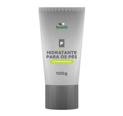 CREME HIDRATANTE PARA OS PÉS - 100g