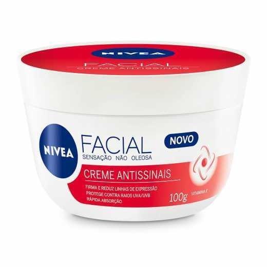 Creme Nivea Facial (ANTISSINAIS)