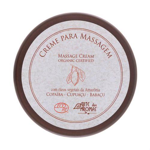 Creme para Massagem Orgânico Copaíba 196g - Arte dos Aromas