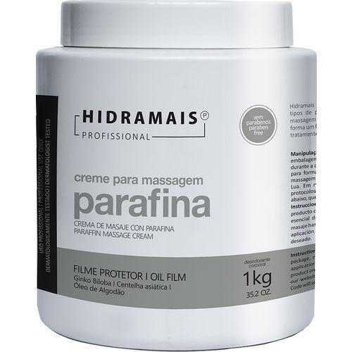 Creme para Massagem Parafina 1 Kg
