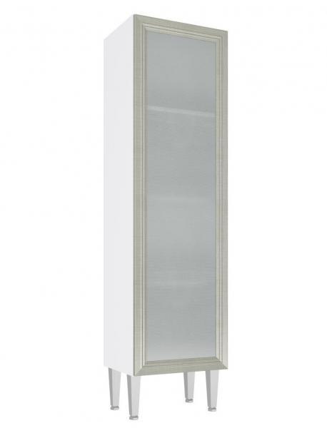 Cristaleira Baixa 1 Porta de Vidro Cz706 Art In Móveis