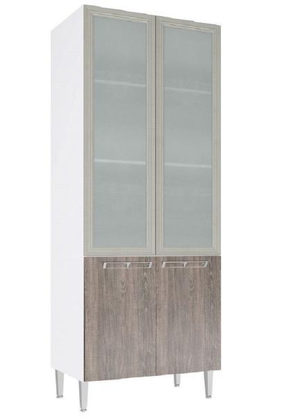 Cristaleira 2 Portas de Vidro Cz709 Art In Móveis